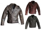 Leather jacket antique Brando Highway