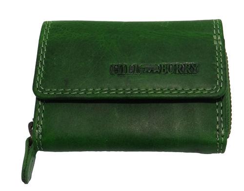 d8db3a93626c0c HILL BURRY Geldbörse Minibörse Vintage Leder, Portemonnaie NEU !!